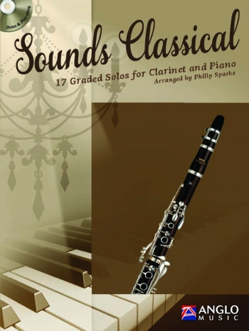 Sounds Classical: Clarinet & Piano Book & CD (Sparke) (Anglo Music)