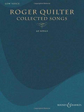 Collected Songs 60 Low Voice And Piano (Boosey & Hawkes)