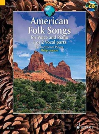American Folksongs: 20 Traditional Pieces: 20 Traditional Pieces (Schott)