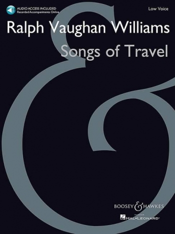 Songs Of Travel: Vocal: Low Voice & Piano & Audio Access (B&H)