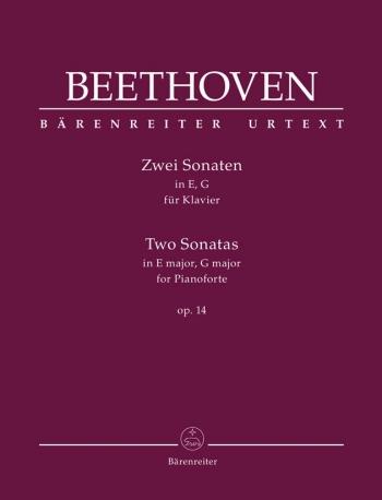 Piano Sonatas (2): E Major, G Major Op.14 (Barenreiter)