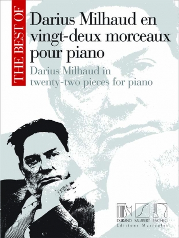 The Best Of Darius Milhaud: Piano Solo (Durand)