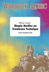 Simple Studies On Trombone Technique: Treble Clef (Taylor)