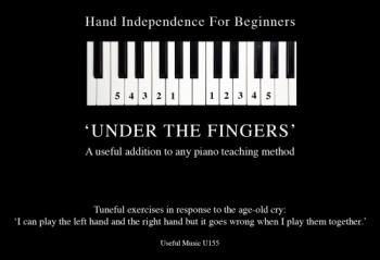 Under The Fingers: Tuneful Exercises (Lyons)