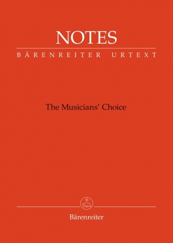 Manuscript: Notes: The Musicians Choice (Small Orange) (Barenreiter)