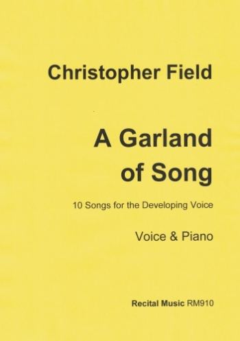 A Garland Of Song: 10 Songs For The Developing Voice. Voice & Piano