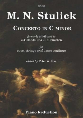 Concerto In C Minor Oboe & Piano (ed Wuttke)