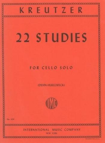 22 Selected Studies Cello (International)