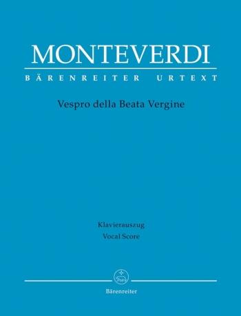 Vespro Della Beata Vergine: Vocal Score (Barenreiter)