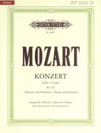 Piano Concerto F Major KV 242 For 3 Pianos & Orchestra