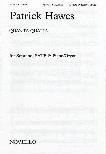 Quanta Qualia: Soprano SATB And Piano/Organ (Novello)