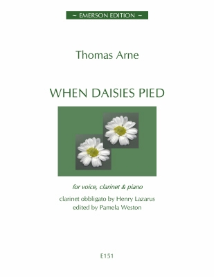When Daisies Pied: Clarinet, Voice & Piano (Emerson)
