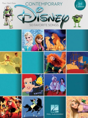 Contemporary Disney: 3rd Edition - Piano Vocal Guitar
