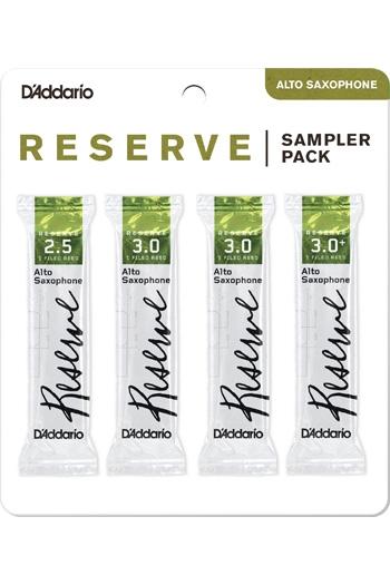 D'Addario Reserve Sampler Box 2.5/3.0/3.0+ 4-pack Alto Reeds