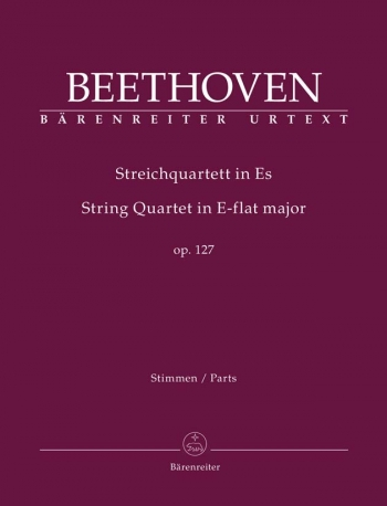 String Quartets: Op.127: Set Of Parts (Barenreiter)
