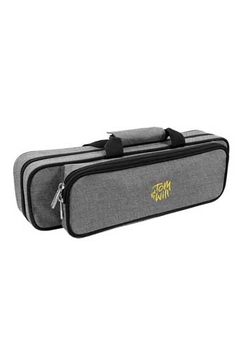 Tom& Will 36FG Flute Gig Case With Moulded Interior In Grey