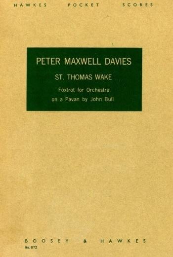 St. Thomas Wake; Foxtrot: Miniature Score