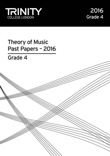 Trinity College London Theory Of Music Past Paper (2016) Grade 4