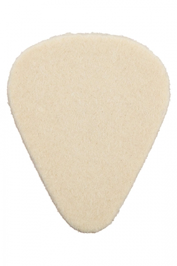 Dunlop Felt Plectrum - Pear Shape (for Banjo/ukelele)