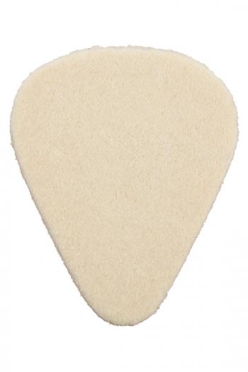 Dunlop Felt Plectrum - Pear Shape (for Banjo/ukelele)