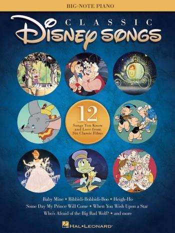 Classic Disney Songs: Big-Note Piano