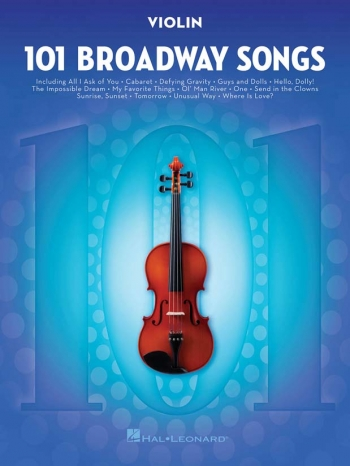 101 Broadway Songs: Violin Solo
