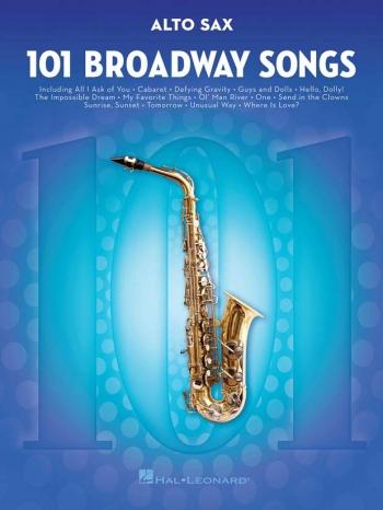 101 Broadway Songs: Alto Sax Solo