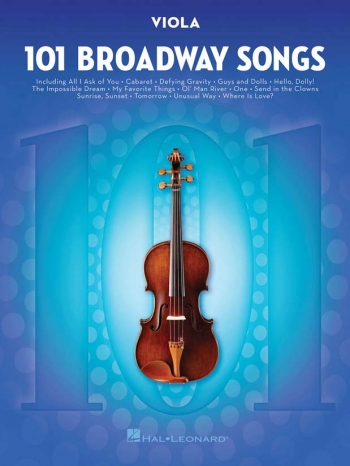 101 Broadway Songs: Viola Solo