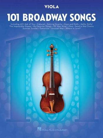 101 Broadway Songs: Viola Solo
