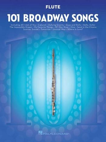 101 Broadway Songs: Flute Solo