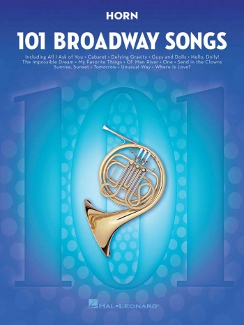 101 Broadway Songs: French Horn Solo