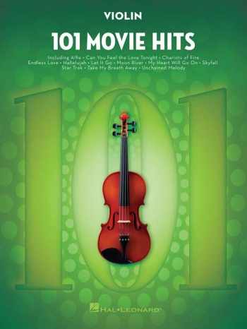 101 Movie Hits: Violin Solo