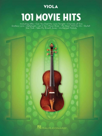 101 Movie Hits: Viola Solo
