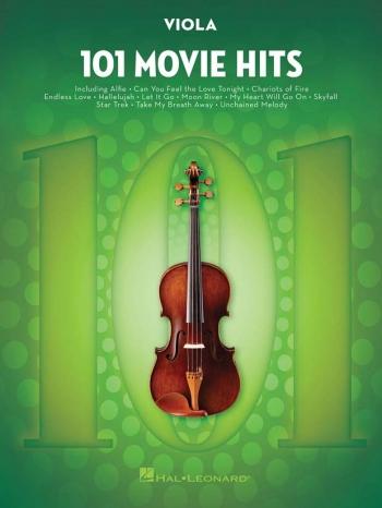 101 Movie Hits: Viola Solo