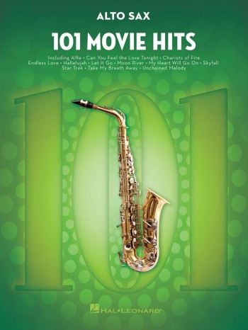 101 Movie Hits: Alto Sax Solo