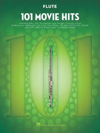 101 Movie Hits: Flute Solo
