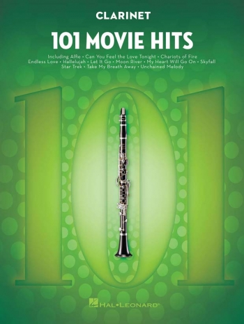 101 Movie Hits: Clarinet Solo