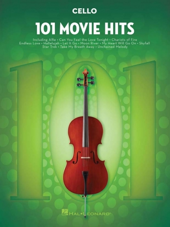 101 Movie Hits: Cello Solo