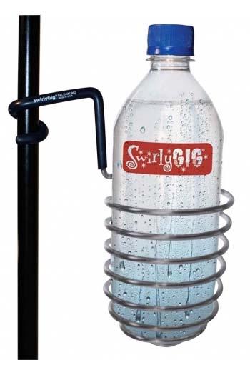 Original SwirlyGig: Drink Holder For 1/2 Inch. Tubing - Silver