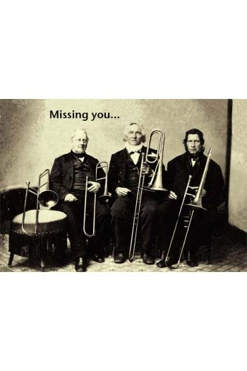 Greeting Card: Missing You