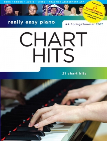 Really Easy Piano: Chart Hits Vol. 4 (Spring/Summer 2017) SOUNDCHECK