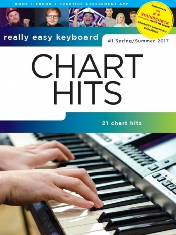Really Easy Keyboard: Chart Hits Vol. 1 (Spring/Summer 2017) SOUNDCHECK