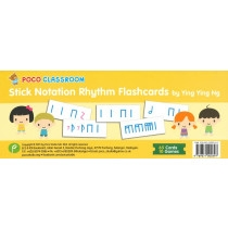 Poco Stick Notation Rhythm Flashcards (Ying Ying Ng)