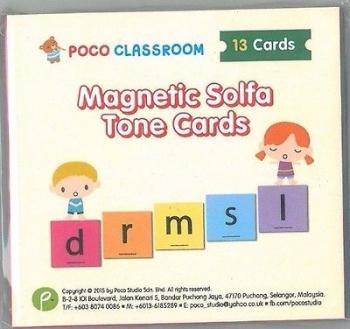 Poco Magnetic Solfa Tone Card (Ying Ying Ng)