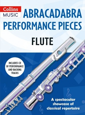 Abracadabra Performance Pieces - Flute Book & CD (Collins)