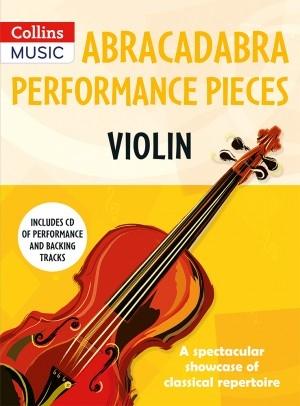 Abracadabra Performance Pieces - Violin Book & CD
