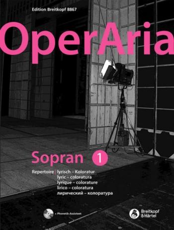 OperAria Soprano 1 Book & Recording Voice & Piano (Breitkopf)
