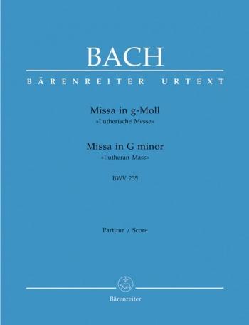 "Mass G Minor BWV 235 ""Lutheran Mass 3"" Vocal Score (Barenreiter)"