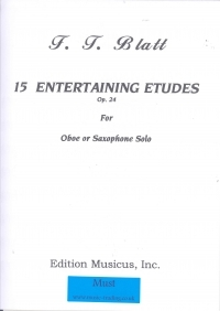 15 Entertaining Etudes Op.24: Oboe & Piano