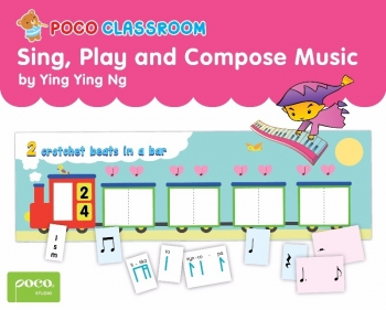 Poco Sing Play And Compose Music Flashcards (Ying Ying Ng)